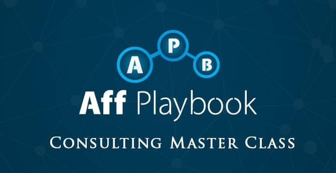 Aff Playbook Consulting Master Class Registration Open