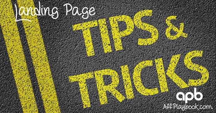The Ultimate Guide to Landing Page Tricks